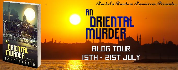 #BlogTour #Review An Oriental Murder by Jane Bastin @JaneJanebastin @crookedcatbooks @rararesources