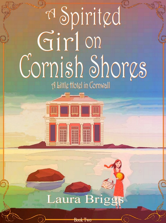 A Spirited Girl on Cornish Shores Amazon Cover