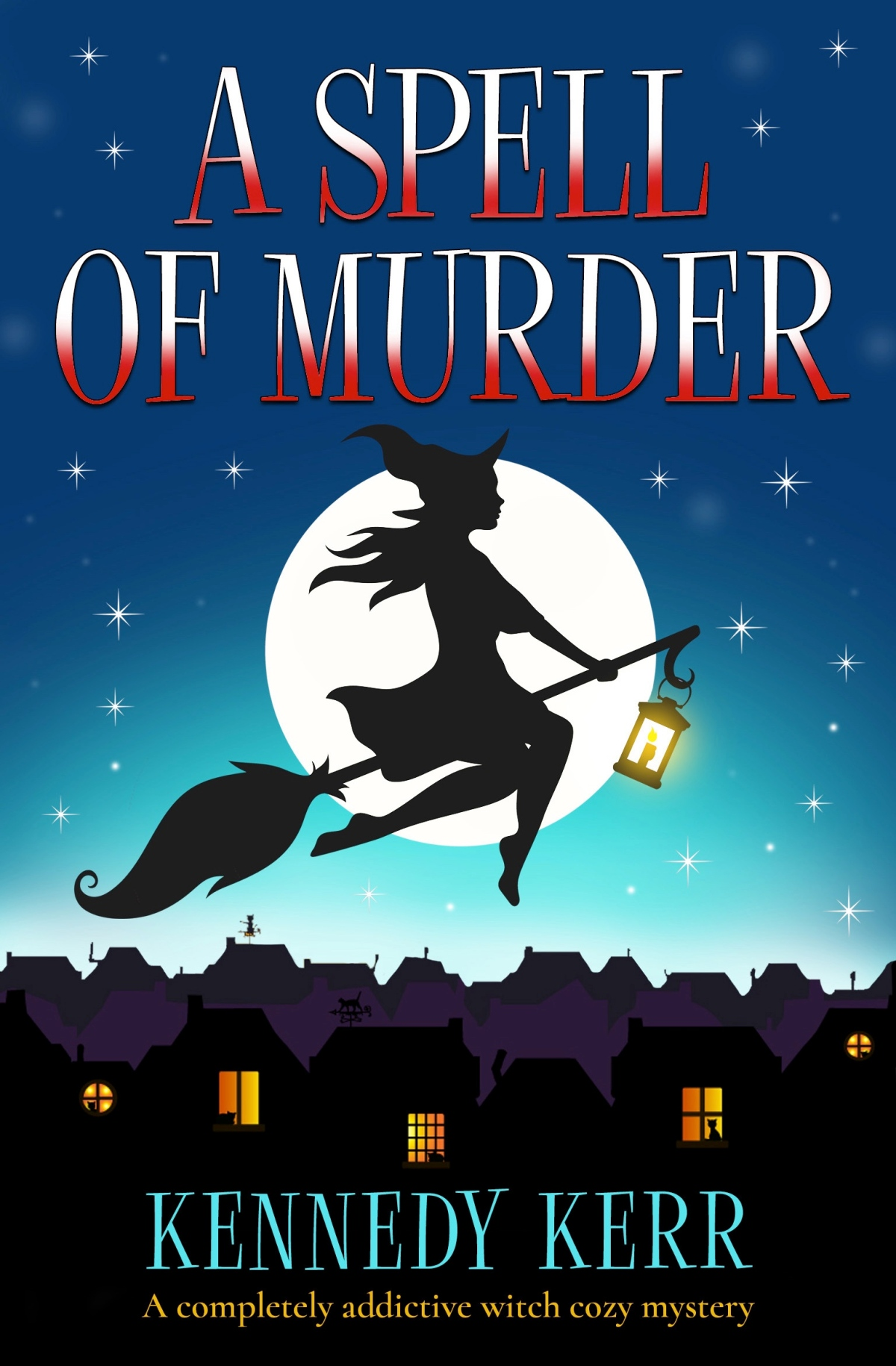 #Review A Spell Of Murder by Kennedy Kerr @KennedyKerr5 @bookouture #Booksontour #newrelease