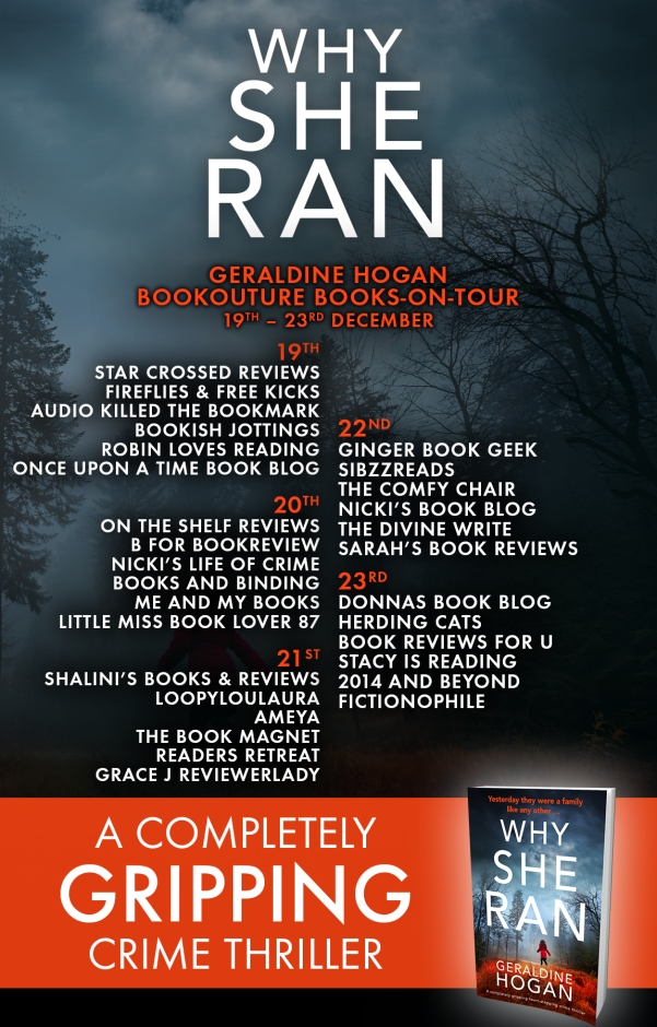 Blog Tour - Why She Ran
